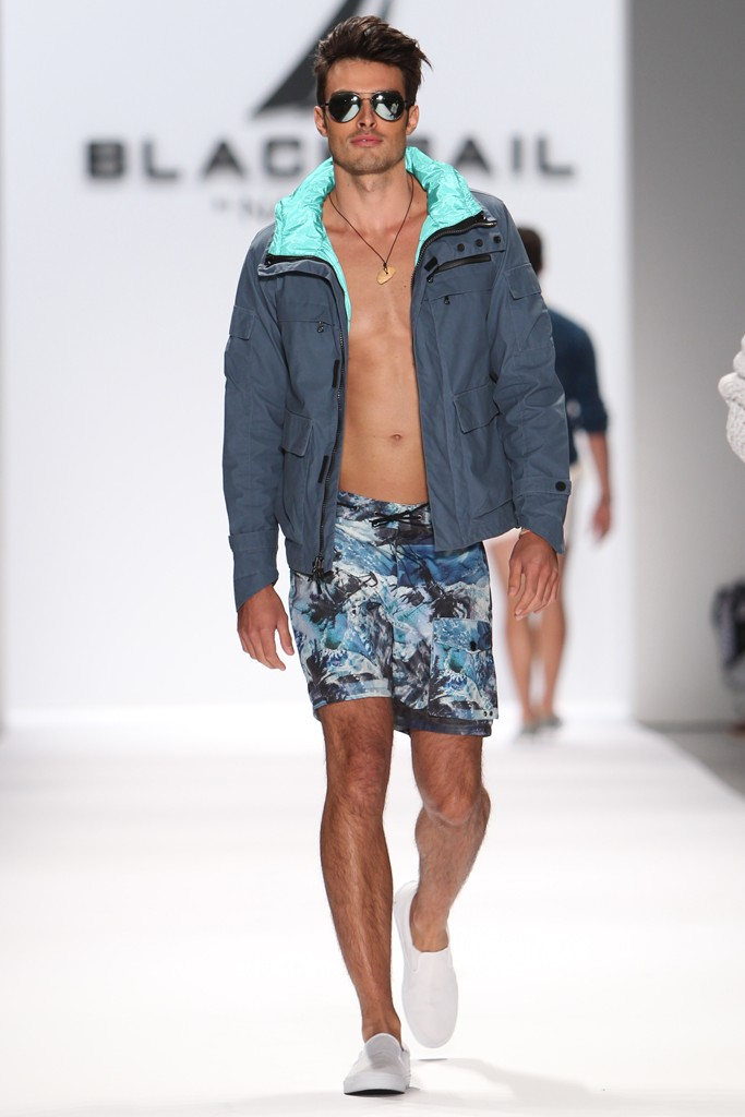 Nautica Men's Spring 2014 Black Sail Fashion Show the Spring Black Sail